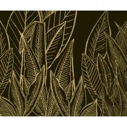 Feuilles de saison dorée